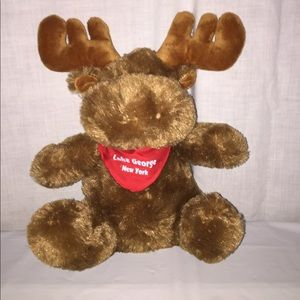 Other - Moose plush from lake George New York